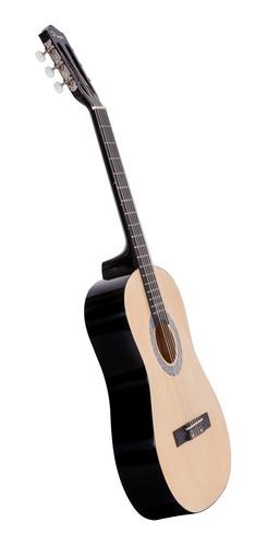 guitarra criolla parquer niño 86 cm natural con funda