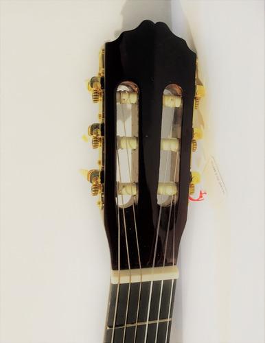 guitarra criolla senior  -  con funda y accesorios
