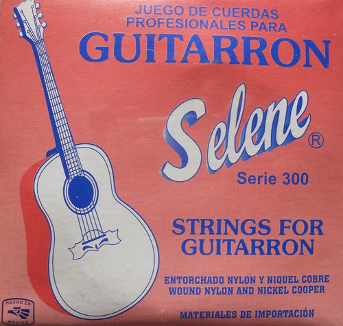 guitarra - cuerdas para guitarron mariachi