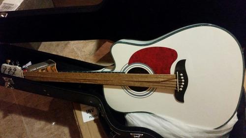 guitarra de 6 cuerdas electroacusticas oscar schmidt nuevas.