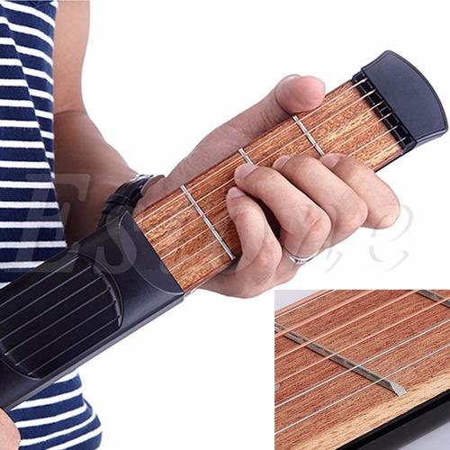 guitarra de bolsillo (practicador)