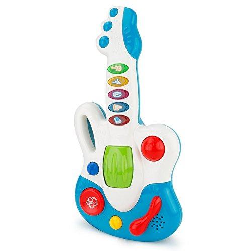 Guitarra De Dibujos Animados Con Luces Desarrollo De La Sab