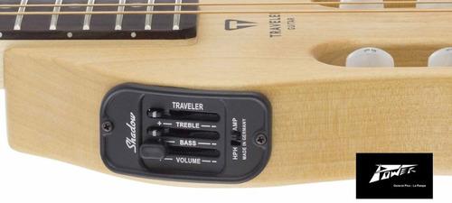 guitarra de viaje electroacústica traveler modelo escs nat