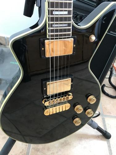 guitarra dean cadillac 1980 classic black nueva en su caja.
