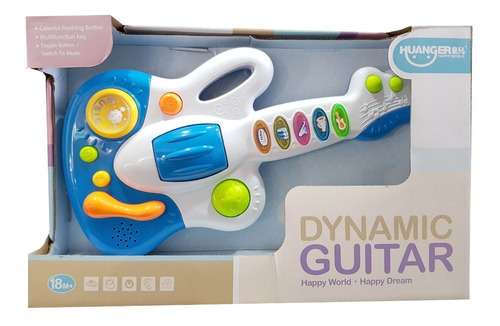 guitarra dinamica juguete musical niños bebes baby shower