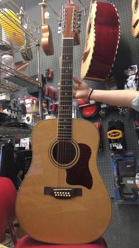 guitarra  docerola caraya 12 cuerdas