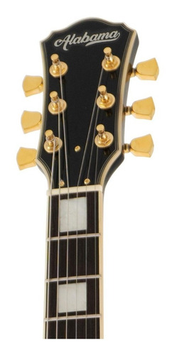guitarra electrica alabama les paul custom lp-402