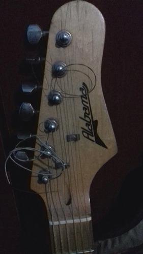 guitarra electrica c correa