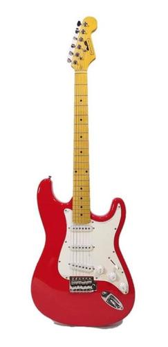 guitarra electrica carter vintage roja ltd