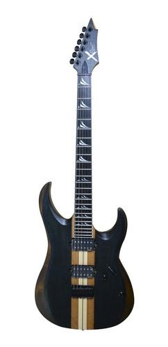 guitarra eléctrica cort x emg retro color otbk en oferta