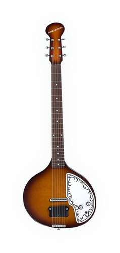 guitarra eléctrica danelectro baby sitar + iline