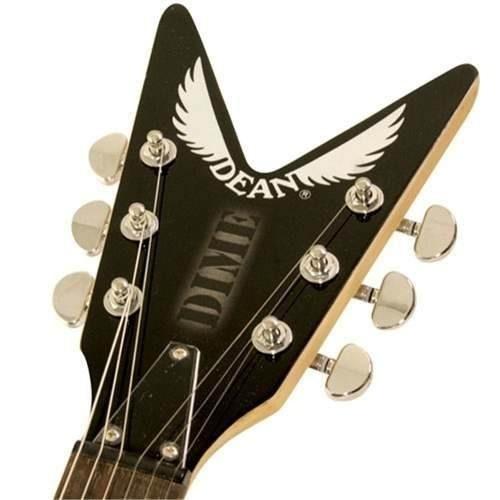 guitarra electrica dean -dof dimebag dime flage