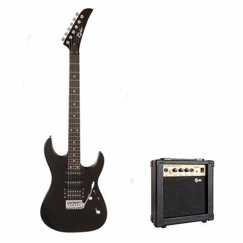 guitarra eléctrica ep07  + amplificador despacho gratis
