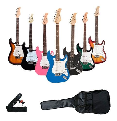 guitarra eléctrica epic + acc. despacho gratis