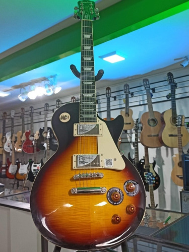 guitarra eléctrica epiphone les paul standard plus-top pro