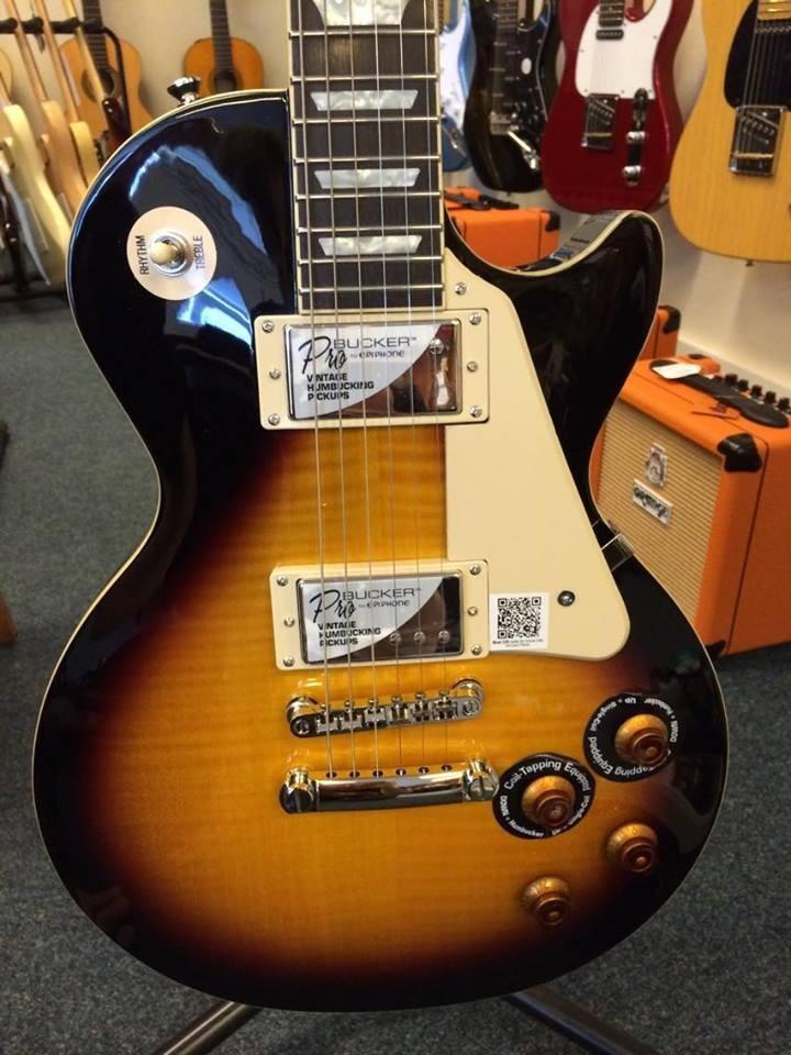 Guitarra Eléctrica EpiPhone Les Paul Standard Plustop Pro Vs