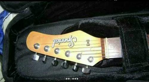 guitarra electrica especial vendo cambio