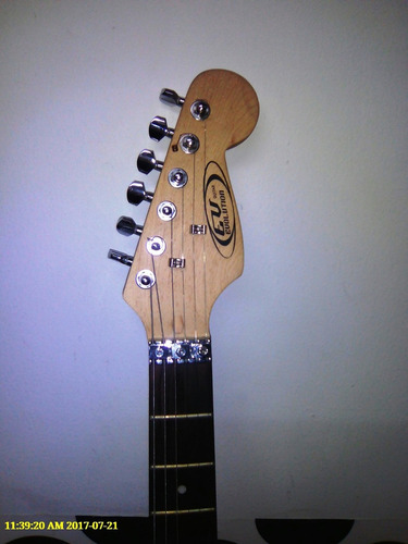 guitarra eléctrica evalution + amplificador 30 amp
