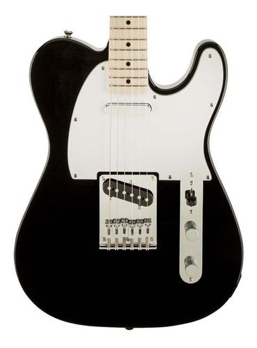 guitarra electrica fender sq tele affinity d.maple black fat