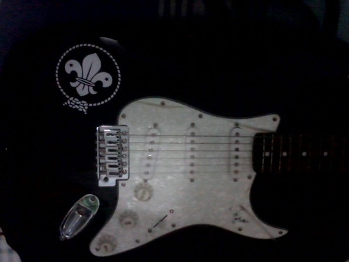 guitarra electrica fender squier