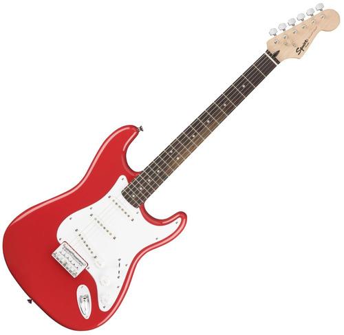 guitarra eléctrica fender squier bullet strat ht sss roja