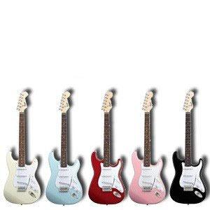 guitarra eléctrica fender squier bullet stratocaster video !
