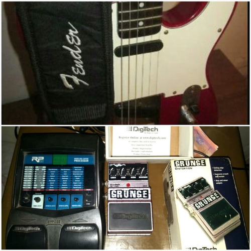 guitarra eléctrica fender squier telecaster serie california