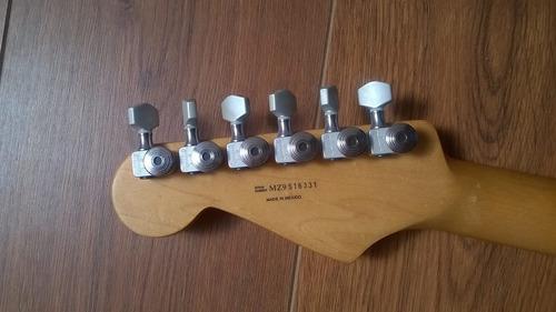 guitarra eléctrica fender stratocaster mexico dimarzio