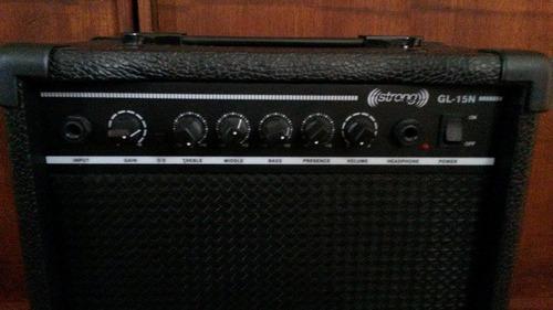 guitarra eléctrica freedom y amplificador strong