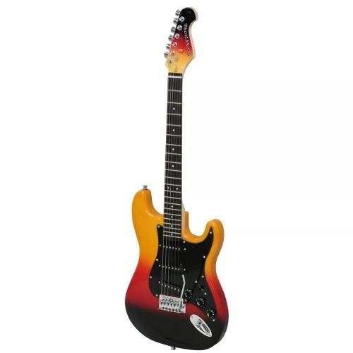 guitarra electrica gypsy rose gre1k-bbs accesorios.