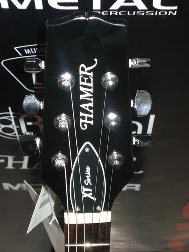 guitarra electrica hamer sp junior bk