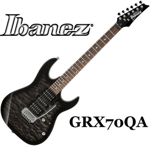 guitarra electrica ibanez grx70qa tks