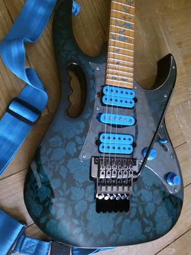 guitarra electrica ibanez jem 77bfp