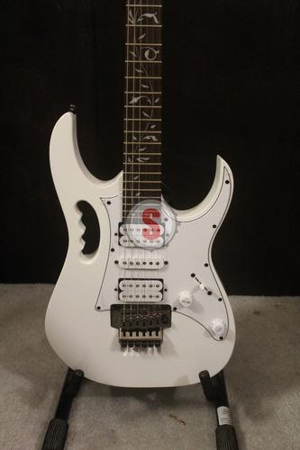 guitarra electrica ibanez jemjr-wh steve vai nueva