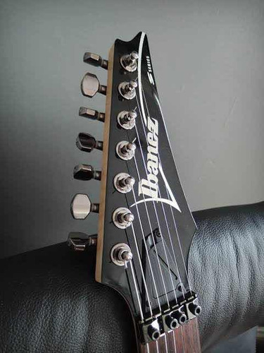 guitarra electrica ibanez s7420 7 cuerdas floyd rose flotant