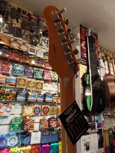 guitarra eléctrica jay turser mustang jt-mg-sbl sonic blue