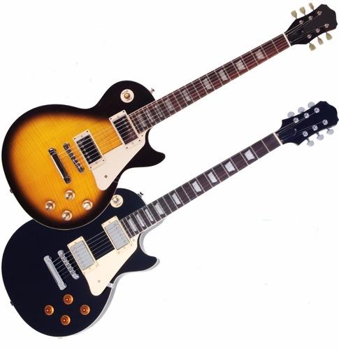 guitarra electrica les paul + ampli 10w + cable + pua