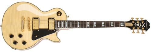 guitarra eléctrica les paul custom 100th anniversary natural