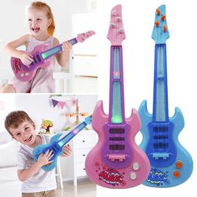 Guitarra Rf Niños 320 Luces Niñas Eléctrica Sonidos Y CtQdhsrxBo