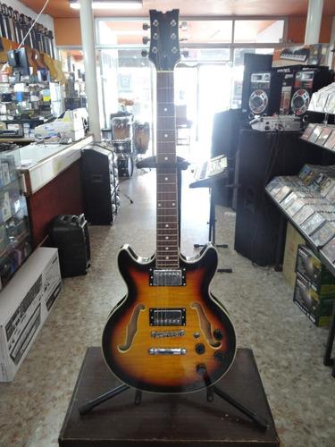 guitarra eléctrica marca maple company gibson 335