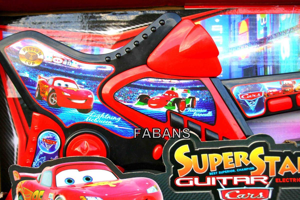 Guitarra electrica ni os spiderman cars juguete hombre - Cars en juguetes ...