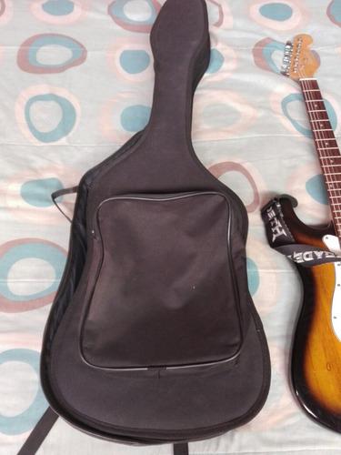 guitarra eléctrica nueva con todos sus accesorios