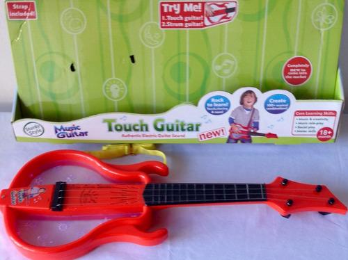 guitarra eléctrica para niños de 18 meses + luces y sonido
