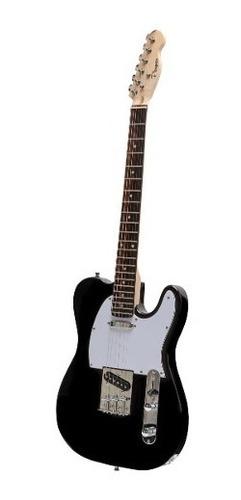 guitarra eléctrica parquer telecaster negra con funda