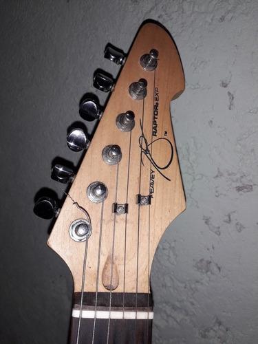 guitarra eléctrica peavey raptor