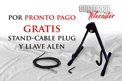 guitarra eléctrica profesional tipo telecaster thinline 2019