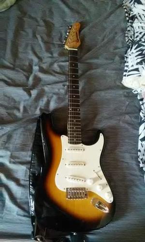 guitarra eléctrica samick established 1958