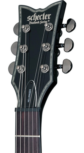 guitarra eléctrica sat. schecter solo-ii platinum m s/i