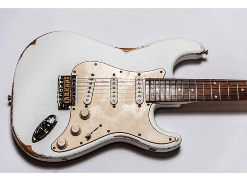 guitarra electrica slick guitars sl57 stratocaster - cuotas