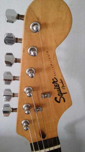 guitarra eléctrica squier bullet by fender (usada)